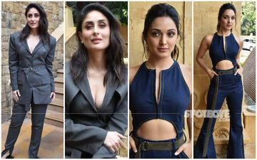 Hot, Hotter, Hottest: Kareena Kapoor Khan's Shirtless Pantsuit And Kiara Advani's Denim Keyhole Jumper Are Sure 'Good News'