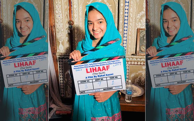 Baal Veer Actress Anushka Sen To Play Young Chughtai In Rahat Kazmi's Lihaaf