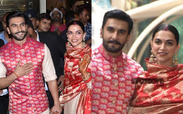 Newlywed Ranveer Singh And Deepika Padukone Are Back  After Wedding – Watch Video!