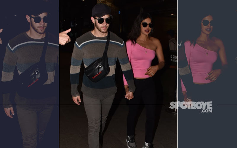Newlyweds Priyanka Chopra & Nick Jonas Are Back In India After Honeymooning In Maldives