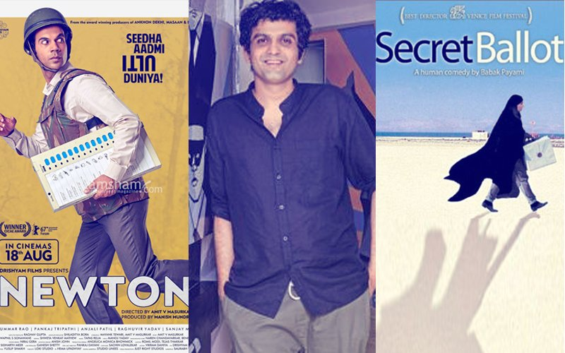 "After Being Accused Of Plagiarism, Newton Director Amit V Masurkar Says, ""Forget Copy, It Isn't Even Inspired By Secret Ballot"""