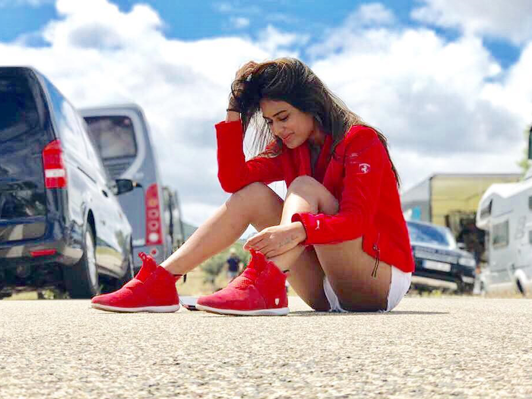 nia sharma candid picture from spain