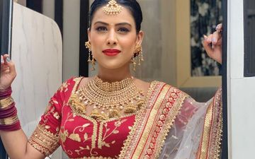Naagin 4: Nia Sharma Shares BTS Pictures Of Her Latest Bridal Look From The Sets Of The Show, CONFIRMS New Episodes Date