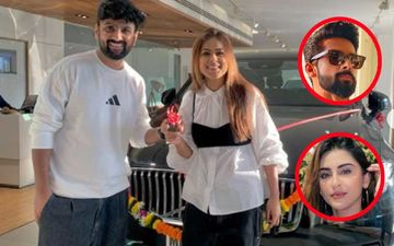 Nia Sharma Pampers Herself With A Swanky Luxurious Car; Jamai Raja Co-star Ravi Dubey, Krystle D'Souza Among Others Pour In Love And Good Wishes