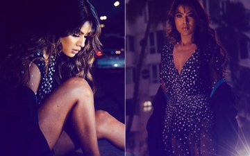 Nia Sharma Looks SWELTERING HOT In An All Bronze Look!