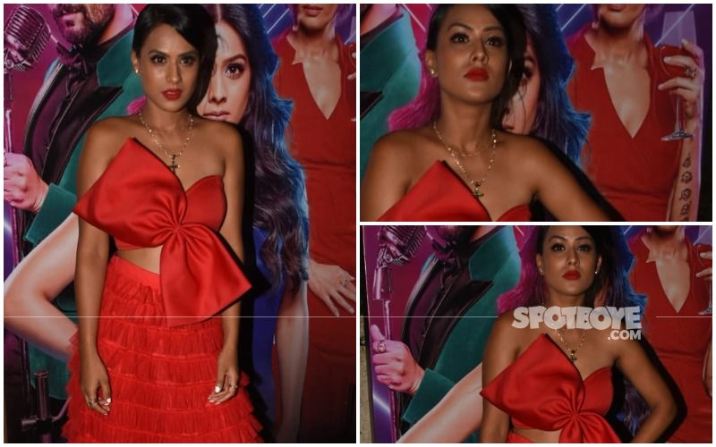 FASHION CULPRIT OF THE DAY: Nia Sharma, May We Please Change The Gift Wrap?