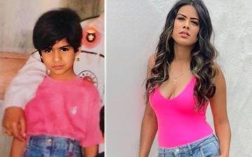Naagin 4's Nia Sharma Goes Fashion Policing On Her Younger Self; Shares Childhood Photo And Asks Fans, 'Who Dressed Better?'