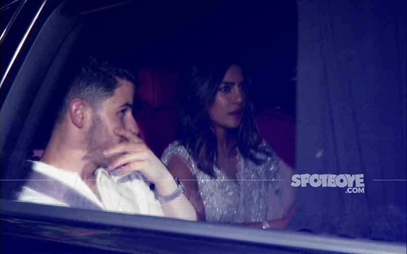 Nick Jonas Accompanies Priyanka Chopra To Akash Ambani's Mehandi Ceremony