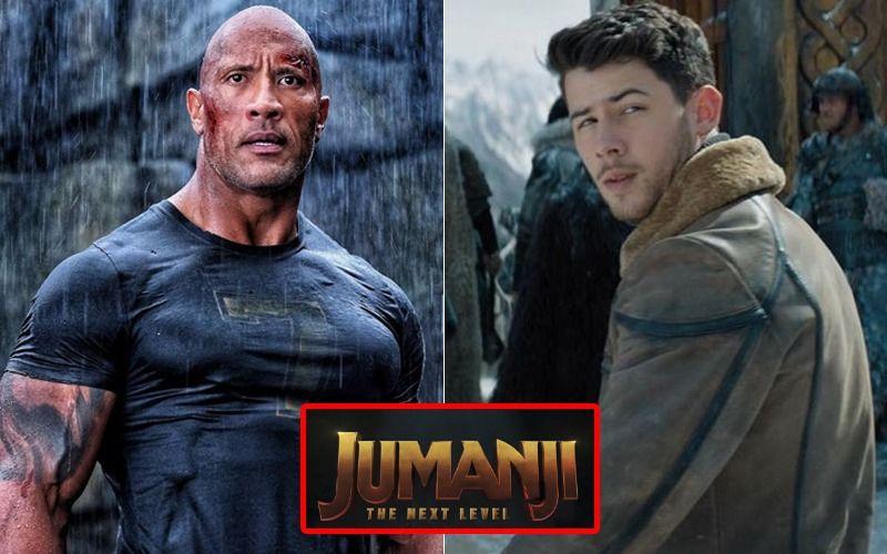 Priyanka Chopra's Husband Nick Jonas Smashes It With Dwayne 'The Rock' Johnson In 'Jumanji: The Next Level'