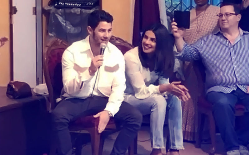 Priyanka Chopra Cheers On Fiancé Nick Jonas As He Sings At The Orphanage. Watch Video