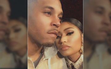 Nicki Minaj Gets Cheeky At NY Fashion Week, Swalla Singer Licks Her Hubby's Lips – Video