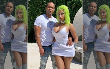 Nicki Minaj Reveals She Secretly Married Boyfriend Kenneth Petty In Surprise Ceremony