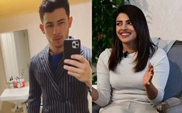 Nick Jonas Gives Out Major Jack Skellington Vibes As Priyanka Chopra Can't Stop Laughing At His Antics- VIDEO