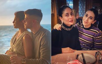 Priyanka Chopra-Nick Jonas Soak In Ocean Waves, Kareena Kapoor Khan-Karisma Kapoor Enjoy A Cosy Swiss Dinner