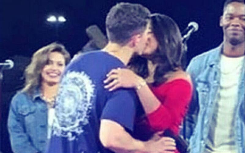 Priyanka Chopra Kisses Fiancé Nick Jonas In Public. What A Moment!