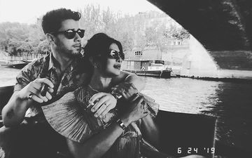 An Evening In Paris! Priyanka Chopra And Nick Jonas Take A Boat Ride In The City Of Love