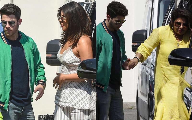 Priyanka Chopra's Husband Nick Jonas Welcomes Mom-In-Law Madhu Chopra In Paris
