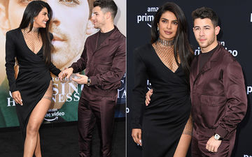 Chasing Happiness Premiere: Priyanka Chopra And Nick Jonas Take Over The Red Carpet