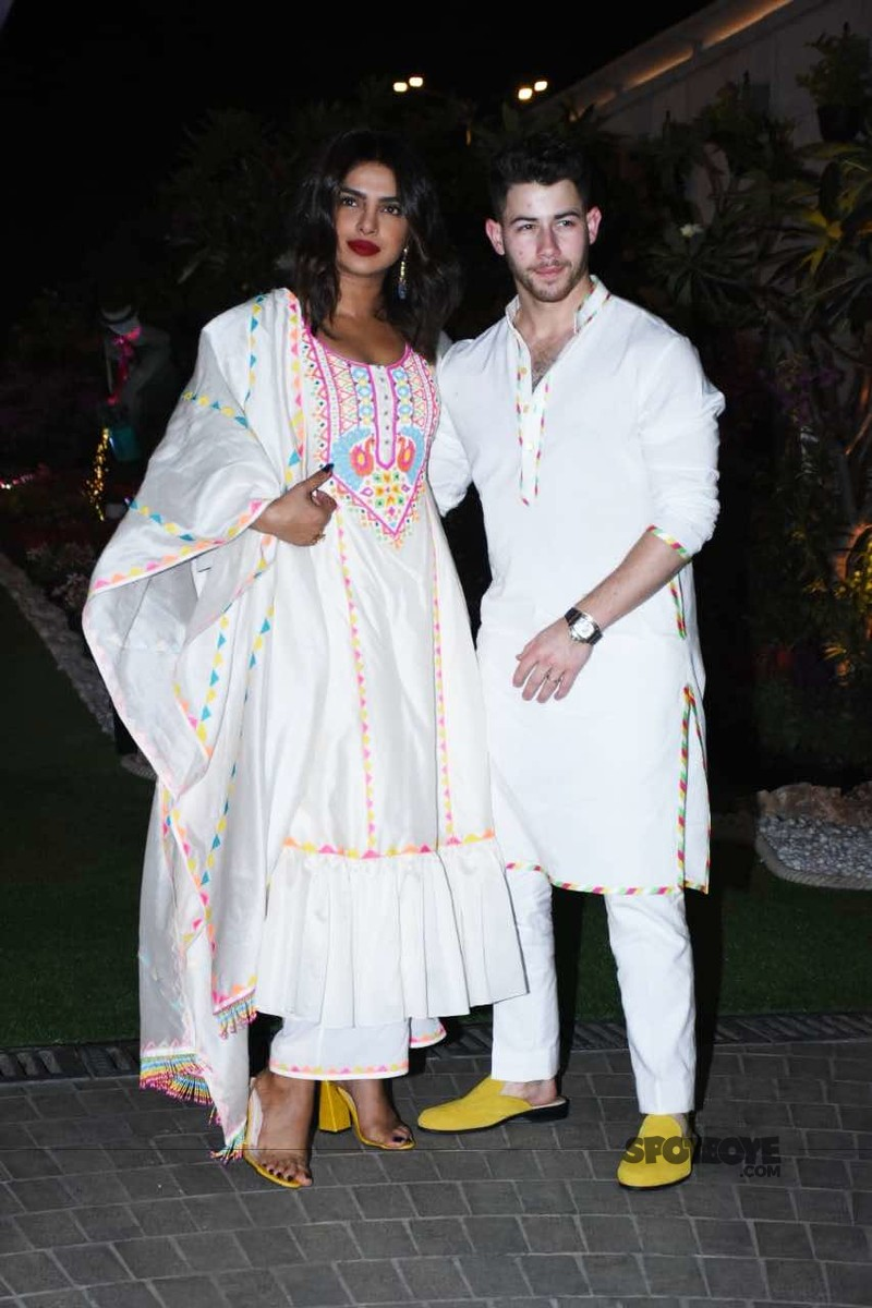 Priyanka Chopra with Nick Jonas