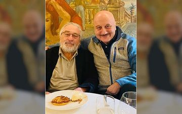 Anupam Kher Celebrates His Birthday With Robert De Niro; Says 'Mr De Niro Was Gracious To Accept My Lunch Invitation'
