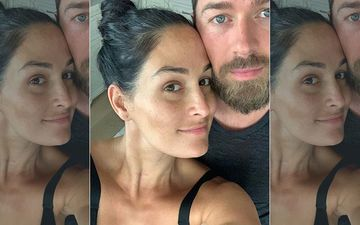 WWE's Nikki Bella Gets Real About Pregnancy Weight Gain, Shows Off 'Grays' And Pigmentation In Au Naturale Selfie With Artem
