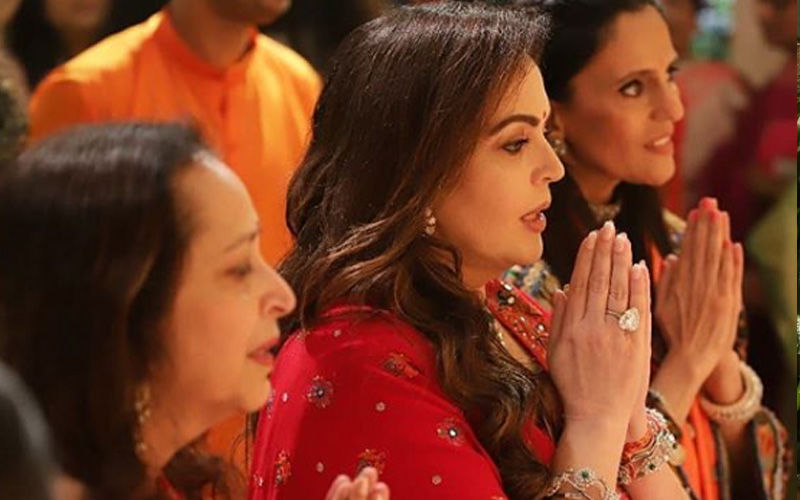 Inside Mukesh And Nita Ambani's Grand Ganesh Chaturthi Celebrations: Watch Videos And Picture Of The Magnificent Decor