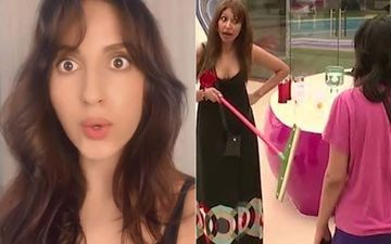 Nora Fatehi Recreates Iconic 'Pooja, What Is This Behaviour' Fight From Bigg Boss; It's All The Drama You Need Amid Lockdown-WATCH