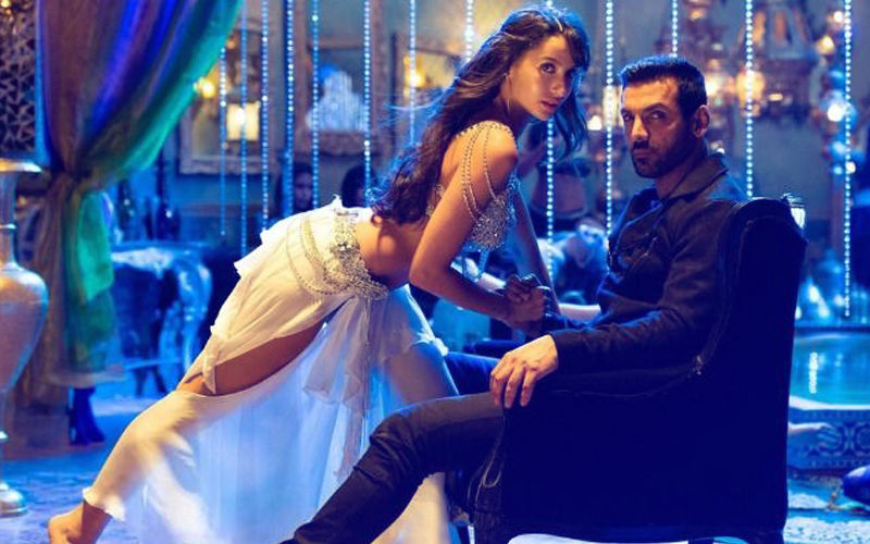 Nora Fatehi Makes John Abraham Dance To Her Tunes