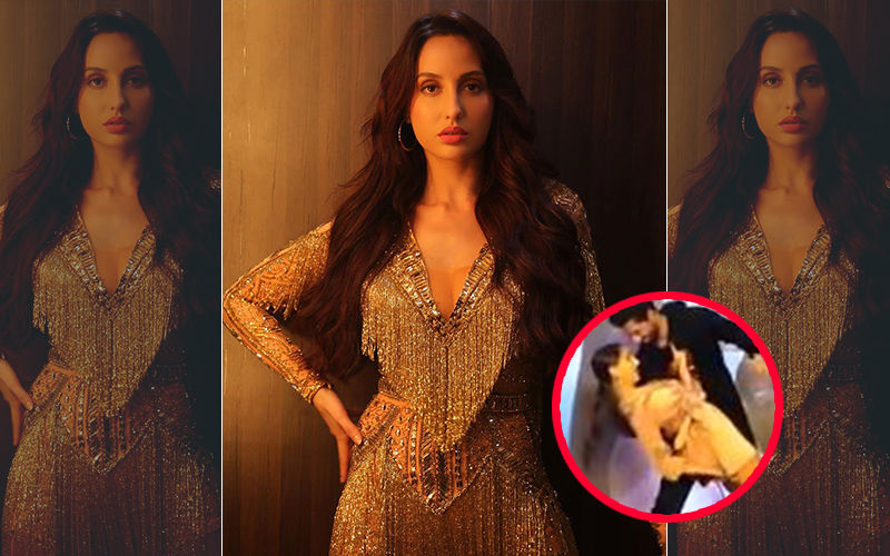 Nora Fatehi Has An Unfortunate Wardrobe Malfunction While Dancing With Vicky Kaushal During Promotional Event For Pachtaoge
