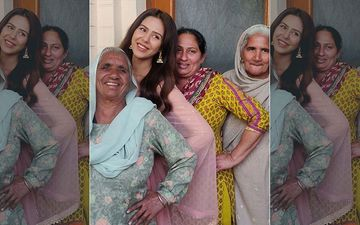 Sonam Bajwa Gets Nostalgic During Shoot, Recalls Moments Spent With Late Grandmother