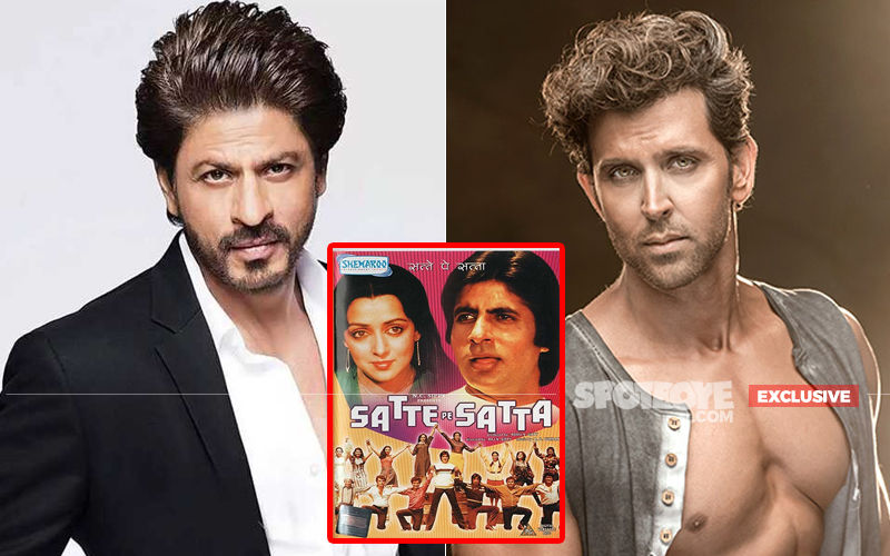 Not Shah Rukh Khan, It's Hrithik Roshan Only For Satte Pe Satta Remake- EXCLUSIVE