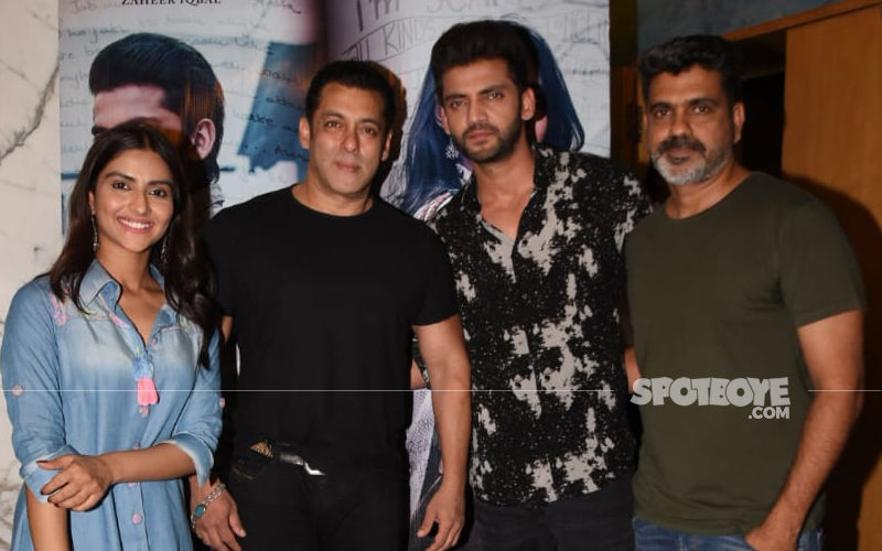 Notebook Screening: Salman Khan Holds Special Screening, Celebs Attend The Event