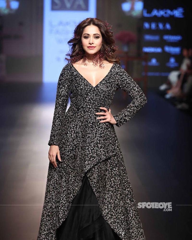 nushrat bharucha at lakme fashion week 2018
