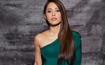 Nushrat Bharucha's Dangerously Thigh-High Slit Gown Is FAB But Netizens Ask, 'What Kind Of Fashion Is This?'