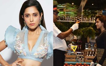 After Rashami Desai, Nushrat Bharucha Cooperates With The Guard Testing For COVID-19 As She Goes Grocery Shopping - PIC