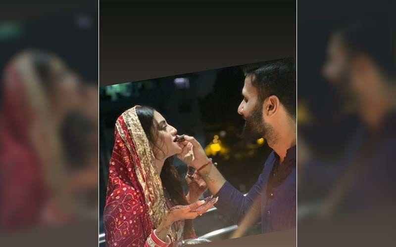 Nusrat Jahan Celebrates Her First Karva Chauth, Shares Pic On Instagram