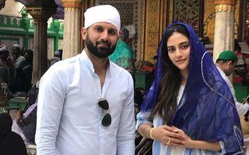 Nusrat Jahan Visits Hazrat Nizamuddin Dargah With Her Husband, See Pics