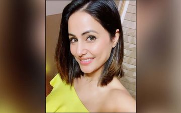 Hina Khan Poses Wearing The Sexiest Black Bralette Ever; It's The Caption That's More Powerful Though - PIC INSIDE