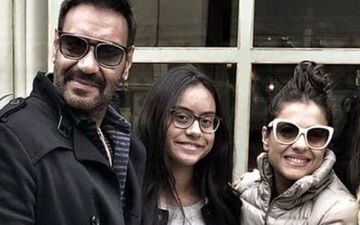Is That Nysa Devgan OR Kajol With Ajay Devgn? The Similarity Is Uncanny; See Picture And Answer The Trick Question