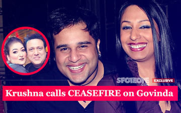 Krushna Abhishek: My Wife Kashmera Is At Fault, Must Apologise To Govinda's Wife Sunita