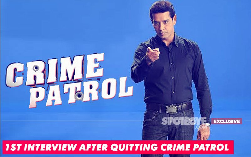 Annup Sonii Opens Up: Here's Why I Quit Crime Patrol...