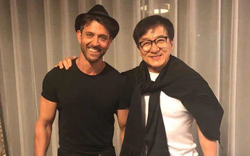 OMG! Hrithik Roshan Meets Jackie Chan; Calls It An 'Incredible Experience'