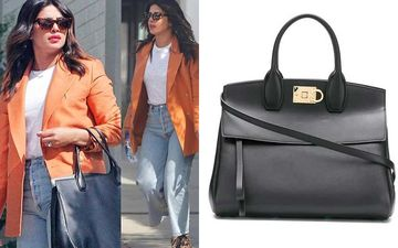 OMG! The Cost Of Priyanka Chopra's Bag Will Simply Blow Your Mind