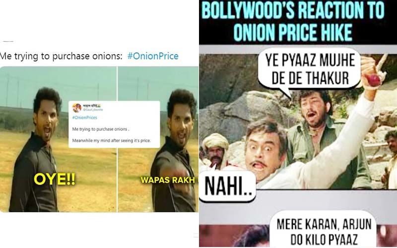 Onion Price Hike: Hera Pheri, Deewaar And Other Films Inspire Hilarious Memes On Steep Onion Prices; We're Laughing And Crying At The Same Time
