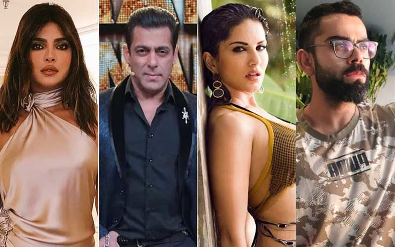 Priyanka Chopra And Sunny Leone Become The Most Searched Celebrities Leaving Salman Khan, Virat Kohli Behind