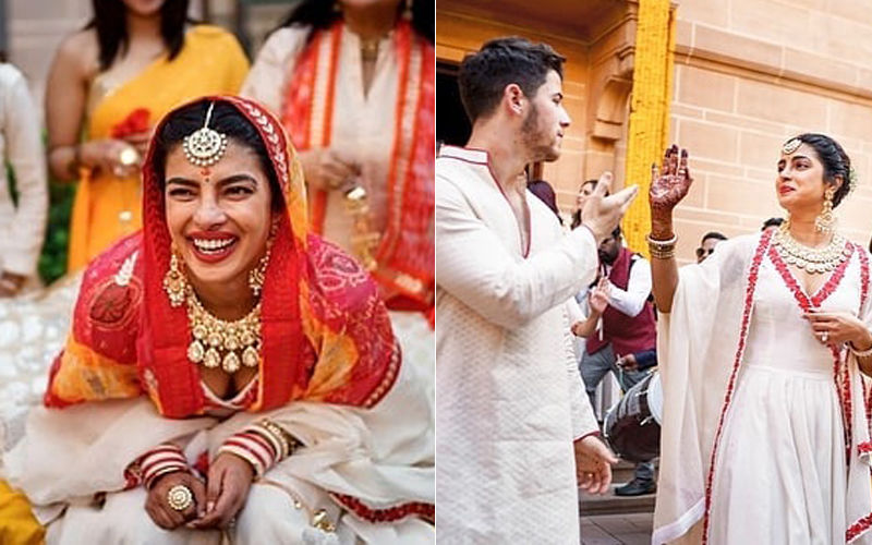 These Unseen Moments From Priyanka Chopra-Nick Jonas' Chooda Ceremony Are Blissful