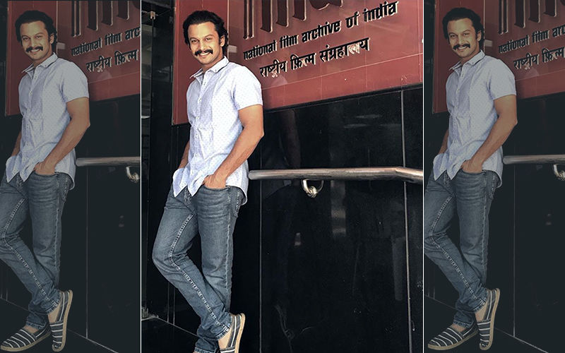 Paani: Adinath Kothare At The NFAI For The Screening Of His National Award Winning Film