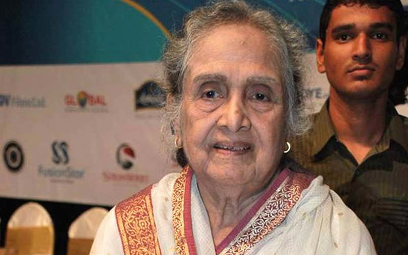 Padma Shri Sulochana Latkar Celebrates 91st Birthday With Fans On Facebook Live