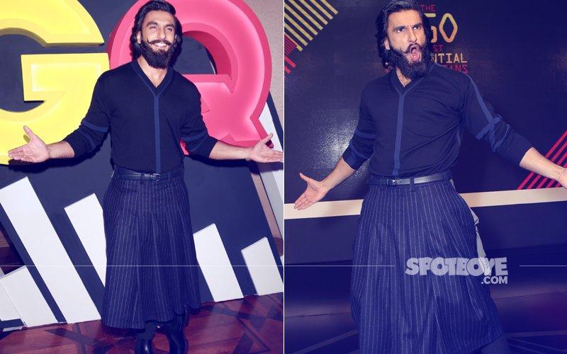 Ranveer Singh Turned Up In A Skirt & Left Us Awestruck!