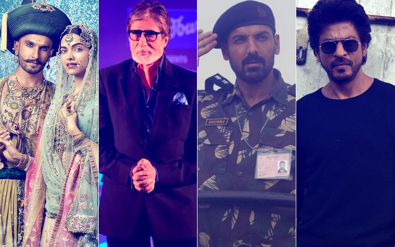 Padmavati, Kaun Banega Crorepati 9, Parmanu & Shah Rukh Khan's Next May Come To A Standstill!